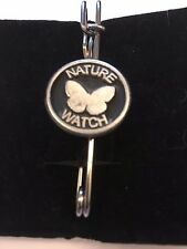 """Nature Watch E103 Scarf , Brooch and Kilt Pin Pewter 3""""  7.5 cm"""