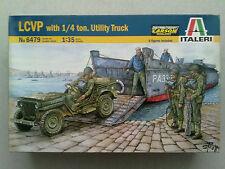 Italeri 6479 LCVP with 1/4 ton Utility Truck 1:35 Neu & eingetütet
