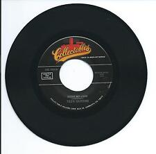 "1956 THE TEEN QUEENS ""EDDIE MY LOVE"" 45rpm 7"""
