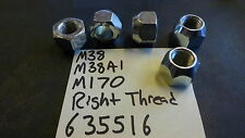 Jeep Willys M38 M38A1 CJ2A CJ3A  13/16 RIGHT hand thread lug nut (big ones)