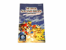 SUPER SMASH BROS MELEE manual only HOL Dutch for nintendo gamecube