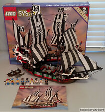 Lego Vintage Pirates 6286 Skull's Eye Schooner 100% Complete w/Box & Manual