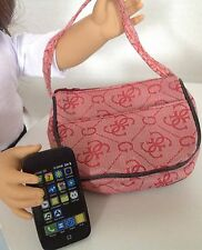"Phone Purse for American Girl Doll 18"" Accessories SET RS"
