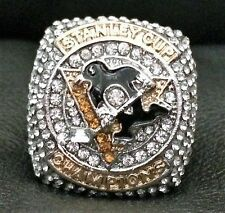 Stanley Cup Ring 2016 Pittsburgh Penguins Championship Replica Ring Size 11