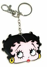 BETTY BOOP KEY CHAIN ZIPPER PULL FACE  DESIGN