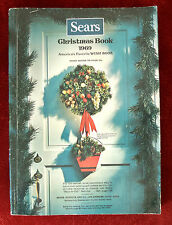 Sears Christmas Book Catalog 1969 ~ Toys Fashion Accessories Dolls