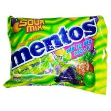 Mentos candies flavored sour mix containing 100 tablets. Free shipping Classic