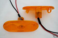 2x 12V LED Intermitente Lateral Naranja ámbar Luces para VW Volkswagen Crafter