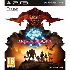 PS3 Game Final Fantasy XIV 14 - A Realm Reborn FF incl. 30 Day Access NEW