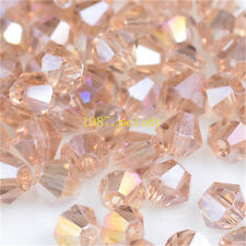 300pcs SSHA ab exquisite Glass Crystal 4mm #5301 Bicone Beads loose beads!