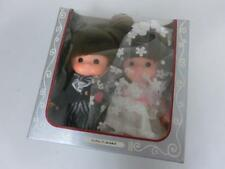 Vintage Rubber Doll Wedding Bride & Groom Rare made in Japan Sekiguchi w Box