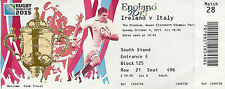 Ireland v Italy 4 Oct 2015 RUGBY WORLD CUP TICKET Pool D, Match 28 The Stadium,