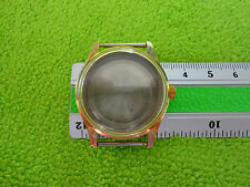 VINTAGE OLD STOCK WATCH CASE NEW UNUSED GOLD COLOUR