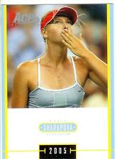 2005 ACE JAPAN HOLIDAY MARIA SHARAPOVA RC #MS-28 ROOKIE SPECIAL EDITION