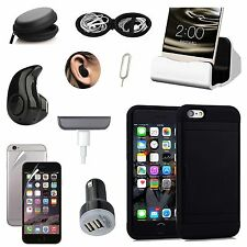 All x Case Cover Dock Charger Bluetooth Earphones Accessory Bundle For iPhone 7
