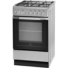 Indesit I5GG1S Gas Cooker with Gas Hob Free Standing 50cm Silver New