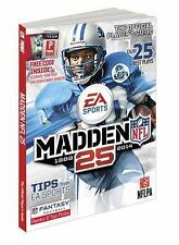Madden NFL 25: Prima Official Game Guide Paperback – August 27, 2013