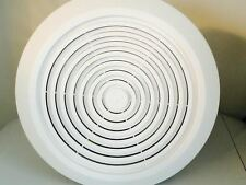 "Mobile Home Bath Exhaust Fan- 7"" Round w/ White Cover"