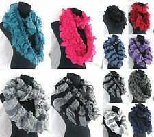 US SELLER-$3.25/p, 20 pieces wholesale infinity scarf winter wrap around 2-loops