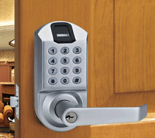Scyan X7SC Biometric Fingerprint Keypad Door Lock Satin Chrome