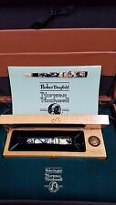 Norman Rockwell Parker Limited Ed, Duofold Fountain Pen 18K Gold nib & Medallion