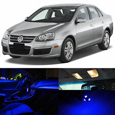 12x Blue Interior LED Lights Package Kit for 2005-2010 Volkswagen Jetta MK5 VW