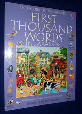 First Thousand Words in Japanese ., Di Bello, Patrizia 0746023103