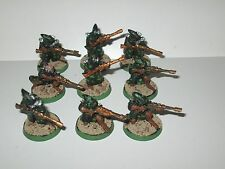 Rogue Trader 40k ELDAR metallo oop Rangers/ascolti/Scout x9