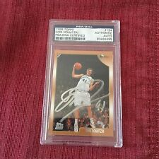 Dirk Nowitzki 1998 Topps SIGNED #154 PSA/DNA Rookie card