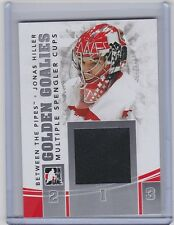 2010-11 IN THE GAME BETWEEN THE PIPES JONAS HILLER ITG GOLDEN GOALIES SILVER
