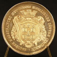 Médaille en argent Le Mans ordonnance royale du 11 juin 1842 silver medal