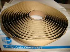 Auto Glass Sealant / Adhesive / Butyl Tape 15' Roll Soft Seal 5/16""
