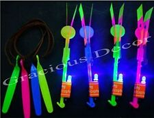 20pc LED Sling Shot Toy Arrow Copter Flying Light up Christmas Stocking Stuffers