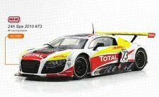 Scaleauto Audi R8 LMS Spa 2010 Nr. 73 M 1:24 neu
