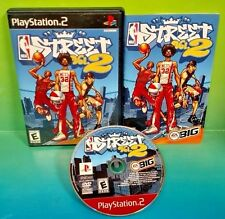 NBA Street Vol. 2 Basketball PS2 Playstation 2 COMPLETE Rare Tested 1- 2 PLayers