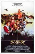 Cut And Run Poster 01 A2 Box Canvas Print