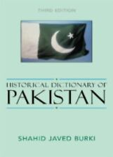 Historical Dictionary of Pakistan (Historical Dictionaries of Asia, Oc-ExLibrary