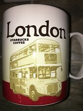 Starbucks City Mug, LONDON, Global Icon, Collection, 16oz, RARE!!!