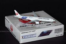 """JAL Japan Airlines 777-300ER """"Samurai Blue#2"""" JA740J JC 1:400 Diecast XX4865"""