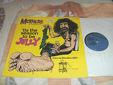Mothers Of Invention (Frank Zappa) LP 'tis The Season To Be Jelly (Sweden 1967)
