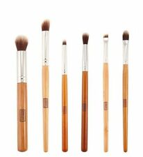 6 pcs Eye Essential Eyeshadow/Eyeliner/Crease/Blending Makeup Brush Set UK New