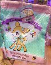 2016 Sanrio Hummingmint Deer Drawstring Shut Multipurpose Cosmetic Bag Pouch P+P