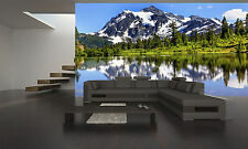 MOUNTAIN VIEW WASHINGTON  Wall Mural Photo Wallpaper GIANT WALL DECOR