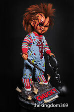 EVIL CHUCKY life size doll 1:1 Custom Statue Diorama Nt Sideshow Predator One of