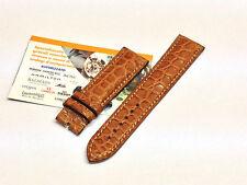 Cinturino Eberhard in coccodrillo miele ansa 21mm per Tazio Nuvolari 31036