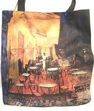 Vincent Van Gogh Night Cafe Terrace Large Tote/Shopping Bag New