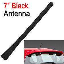 7'' 180mm Auto AM / FM Radio Antenna Aereo Vite Tipo KIT Sostituzione NERO