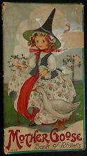 1916 STRECHER Litho MOTHER GOOSE Book of Rhymes by MARGARET EVANS PRICE Must See
