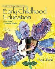 Introduction to Early Childhood Education (What's New in Early Childhood)