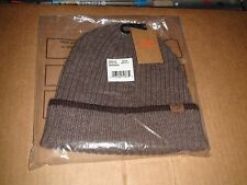 NWT MEN'S DOCKERS RIBBED CUFFED BEANIE Size NO SIZE BROWN